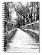 Across The Bridge Spiral Notebook