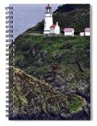 Across The Ocean Blue Spiral Notebook