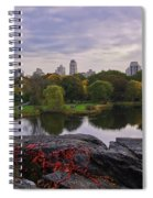 Across The Pond 2 - Central Park - Nyc Spiral Notebook