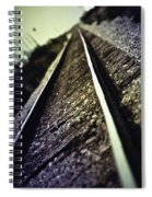 Across The Tracks Spiral Notebook