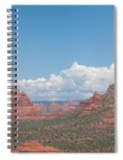 Across The Valley Spiral Notebook