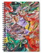 Acrylic  Madness Spiral Notebook