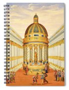 Bacchus Temple Spiral Notebook