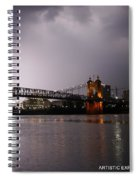 Act Of God Spiral Notebook