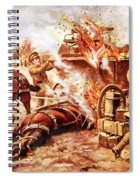 Acting-bombardier H.a. Creasey Spiral Notebook