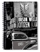 Actor Co-writer Director Orson Welles Premier  Citizen Kane Palace Theater New York  May 1 1941-2014 Spiral Notebook