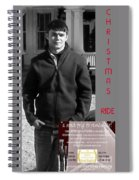Actor In Christmas Ride Film Spiral Notebook