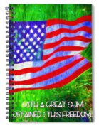 Acts 22 28 Spiral Notebook
