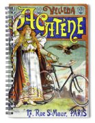Ad Bicycles, 1898 Spiral Notebook