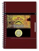 Ad  Pancho Villa Bar  Nogales Sonora Mexico 2013  Spiral Notebook