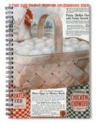 Ad Purina, 1919 Spiral Notebook