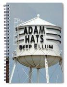 Adam Hats In Deep Ellum Spiral Notebook
