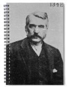 Adam Worth (1844-1902) Spiral Notebook