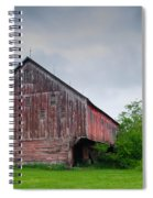 Adams County Barn 7d02923c Spiral Notebook