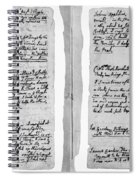 Adams Law Notes, 1770 Spiral Notebook