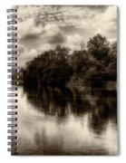 Adda River 2 Spiral Notebook