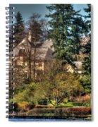 Addams Family Hotel Spiral Notebook