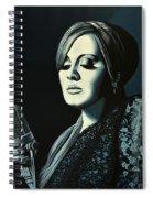 Adele 2 Spiral Notebook