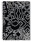 Adinkra Splash Spiral Notebook