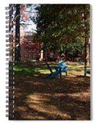 Adirondack Chairs 2 - Davidson College Spiral Notebook