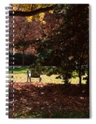 Adirondack Chairs-3 - Davidson College Spiral Notebook