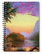 Adirondacks Sunset Spiral Notebook