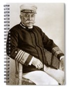 Admiral Of The Navy George Dewey Seen In 1899 On The Uss Olympia Spiral Notebook