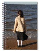 Admiring The Ocean Spiral Notebook