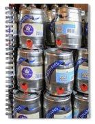Adnams Jubilee Beer Keg Spiral Notebook