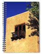Adobe And Ristras Spiral Notebook