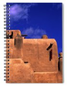 Adobe Architecture Spiral Notebook