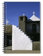 Adobe Church Taos Spiral Notebook