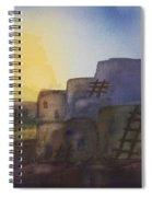Adobe Dwellings Spiral Notebook