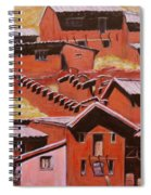 Adobe Village - Peru Impression II Spiral Notebook