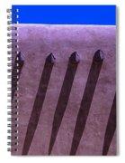 Adobe Wall Shadows Spiral Notebook