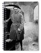 Adolf Hitler Shortly After His Release From Prison 1924 1924-2012 Spiral Notebook