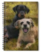 Adoption Is The Best Answer - Painting Spiral Notebook