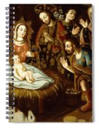 Adoration Of The Sheperds Spiral Notebook