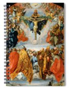 Adoration Of The Trinity  Spiral Notebook
