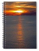 Adriatic Sunset Spiral Notebook