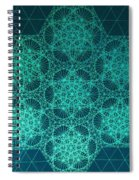 Adrift In Space Time Spiral Notebook