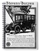 Ads Automobile, 1912 Spiral Notebook