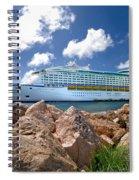 Adventure Of The Seas Spiral Notebook