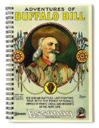 Adventures Of Buffalo Bill Spiral Notebook