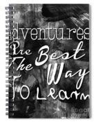Adventures Spiral Notebook