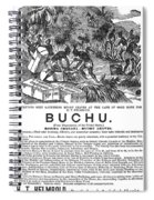 Advertisement: Buchu, 1871 Spiral Notebook