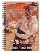 Advertisemet For Marmonier Fils Lyon Spiral Notebook