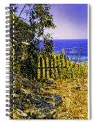 Aegean View Spiral Notebook