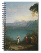 Aeneas And The Cumaean Sybil Spiral Notebook