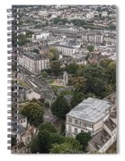 Aerial Chartres Spiral Notebook